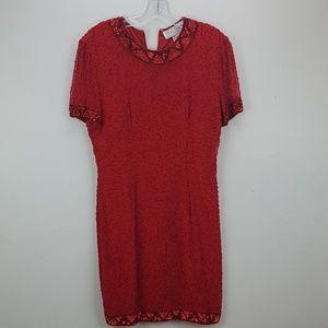 Beautiful beaded dress size 8